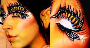 Tiger Halloween Makeup by Halloween Makeup Butterfly Fairy Youtube