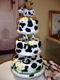 wedding cake joke cow cake for retirement party it was a joke from a colleague