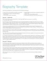 biography template templates u0026forms pinterest functional