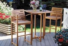 outdoor bar height table and chairs set build an elegant patio set canadian home workshop