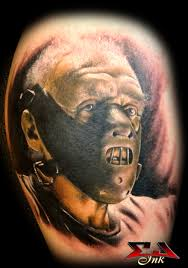 hannibal lecter horror tattoo design photos pictures and