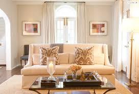elegant formal living room design with greige walls paint color