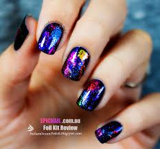 indian ocean polish review epicnail new nail foil kits