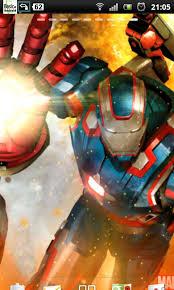 war machine iron man wallpapers free iron man 3 live wallpaper 5 apk download for android getjar