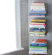Invisible Bookshelf Diy Get Organized 10 Diy Shelves You Can Make In 1 Hour Or Less The