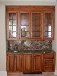 cute glazing kitchen cabinets featuring wooden color kitchen