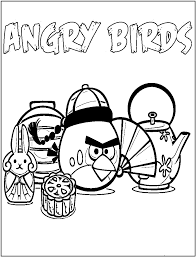 angry bird coloring pages coloringsuite com