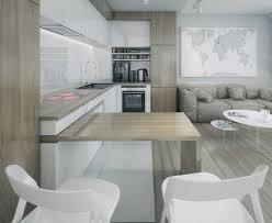 table de cuisine en stratifié plan de travail cuisine 50 idées de matériaux et couleurs bois
