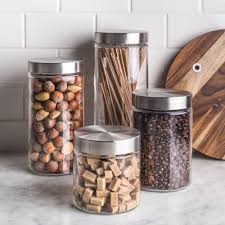 glass kitchen storage canisters storage canisters kitchen stuff plus