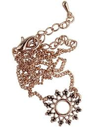 rose gold colour necklace images Shop dixi boho choker datura choker necklace colour selection jpg