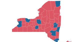 2016 Presidential Map 4 Things To Know The Ny Results
