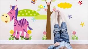 jungle animal removable kids wall stickers youtube jungle animal removable kids wall stickers