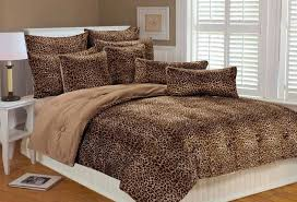 Leopard Bed Set Leopard Print Comforter Set Awesome Leopard Comforter Set On