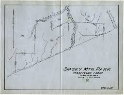 Smoky Mountain National Park Map Open Parks Network