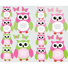 Owl Wall Decor by Cozy Owl Wall Decor For Nursery Pink And Green Owl Pink Owl Wall