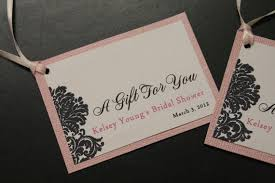 wedding gift tags items similar to bridal shower favor tags wedding favor tags