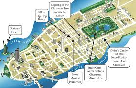 map ny city map of new york city with tourist attractions major