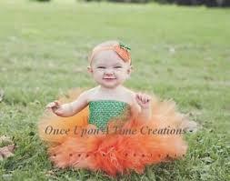 Halloween Costumes Newborn Babies Pumpkin Tutu Dress Newborn Baby 3 6 12 Halloween