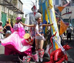 tuesday costumes splendour creativity and pageantry dominica s carnival tuesday