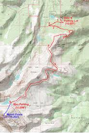 Colorado 14er Map by 14ers Peakmind Page 2