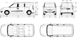 Free Blueprints Opel Combo 2015 Blueprint Download Free Blueprint For 3d Modeling