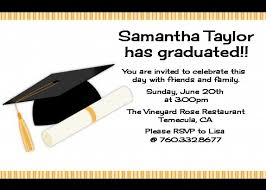 how to make graduation invitations graduation cap graduation party invitations candles and favors