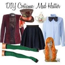 Womens Mad Hatter Halloween Costume 25 Mad Hatter Costumes Ideas Mad Hatter