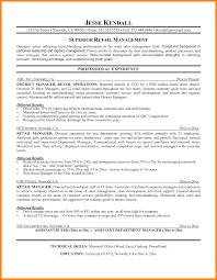 sample resume store manager retail resume retail sales associate
