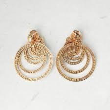gipsy earrings de grisogono 18k gold 22 00ct earrings com931 ebay