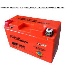 motorcycle gel battery for ducati 1199 kawasaki klx 400 suzuki