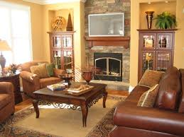 rustic living room furniture ideas with brown leather sofa brown leather living room furniture ecoexperienciaselsalvador com