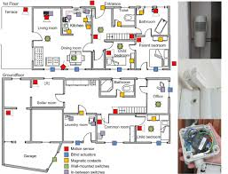 Dual Occupancy Floor Plans Left Floor Plan Of The Testbed House And Sensor Placements For The