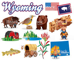 Wyoming Travel Icons images Wyoming symbols stock vector art more images of absaroka range