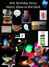 glow in the birthday party neon glow party cake images glow in the cake