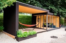 prefab office shed kenjo prefab house sliding outdoor space garage