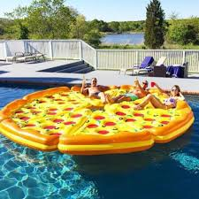Backyard Blow Up Pools by Complete Pizza Pool Float Set The Green Head