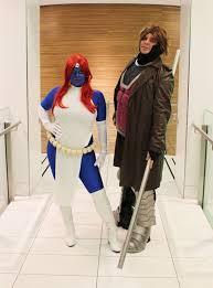 Gambit Halloween Costume Halloween 2016 Mystique Men Makeup Mind