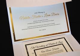 Wedding Invitations Brisbane Little Peach Classic Gold Foil U0026 Letterpress