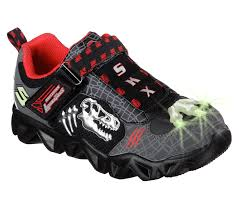 skechers light up shoes on off switch skechers light ups datarox extinct black grey sizes 7 10