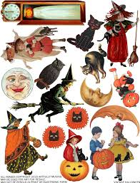 vintage halloween backgrounds artfully musing free images