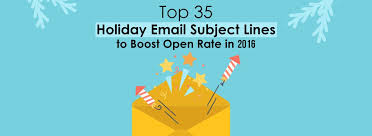 top 35 email subject lines to boost open rate in 2016
