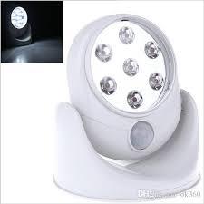 Indoor Motion Sensor Light Best 6v 7 Leds Cordless Motion Activated Sensor Light Lamp 360