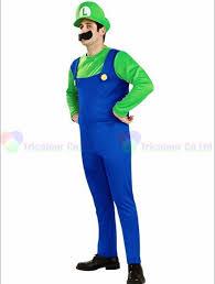 Super Mario Halloween Costume Halloween Dress 170 180cm Super Mario Luigi Mascot