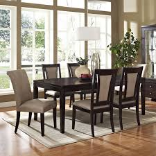 How To Decorate A Dining Room Table Great Leather Dining Chairs Decorating Ideas Images In Dining Room