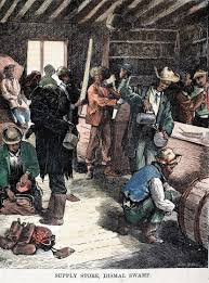 the real history of thanksgiving deep in the swamps archaeologists are finding how fugitive slaves