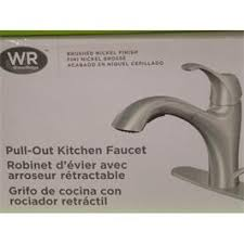 Water Ridge Kitchen Faucet by Water Ridge Waterridge Solid Brass Brushed Nickel Faucet 957988