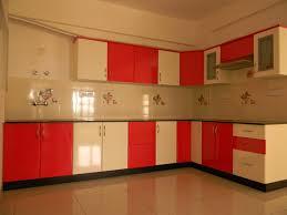 color kitchen ideas orange color kitchen design