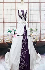 purple white wedding dress emily purple and white wedding dress weddingoutlet com au