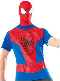 spider man t shirt u0026 mask mens costume by rubies halloween