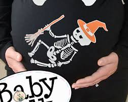Skeleton Maternity Halloween Costumes Xray Maternity Etsy